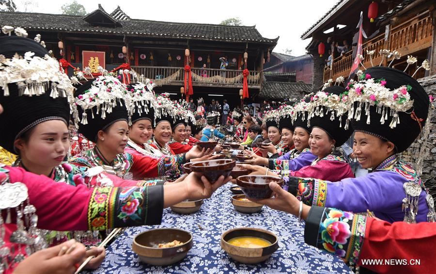 miao ethnic people hold cultural tourism festival in sw china 1