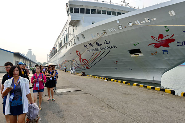 China To Become Asia Pacifics Largest Cruise Tourism Market - Chinese cruise ship