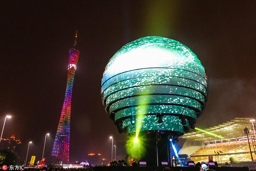Guangzhou lights up & Guangzhou lights up[7]- Chinadaily.com.cn