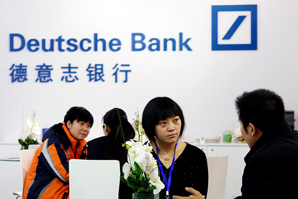 deutsche bank to pay to settle us probe business. Black Bedroom Furniture Sets. Home Design Ideas