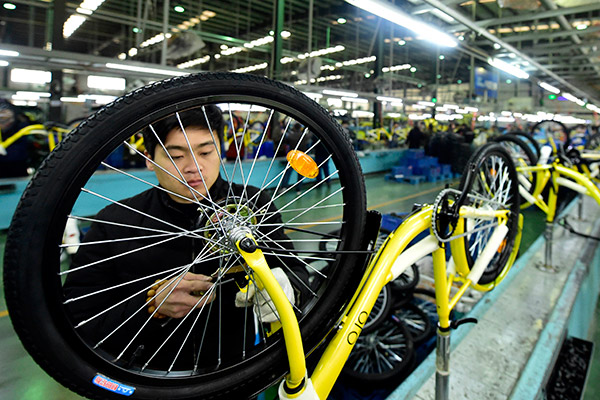 Sharing Apps Shake Up Chinese Bike Manufacturers Business