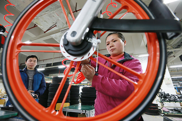 Mobike's secret to leading the bicycle pack