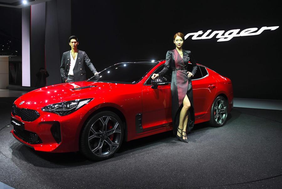 A look inside Seoul's 2017 motor show