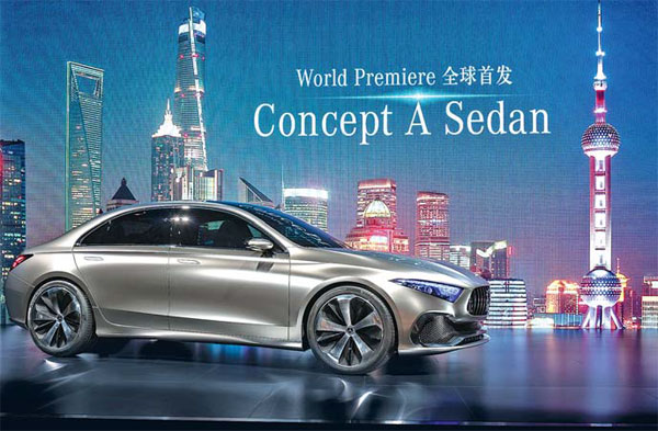 Mercedes offerings mirror China's diverse tastes