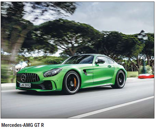 Mercedes-AMG delivers adrenaline-fueled drives
