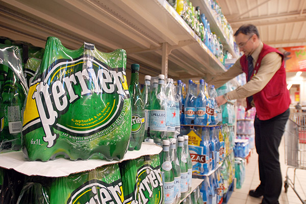 Glass is more than half full for Perrier and San Pellegrino