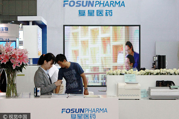 fosun revises indian drug maker acquisition cuts stake size