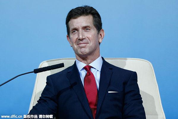 北京国家会议中心出席2014年亚太经合组织工商领导人峰会图片来源图片