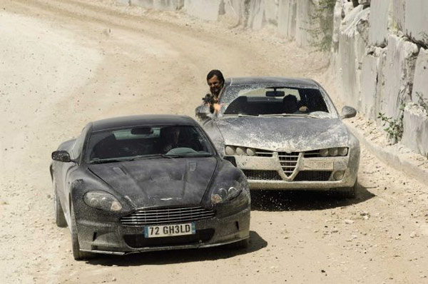 James Bond S Aston Martin In Auction Business Chinadaily