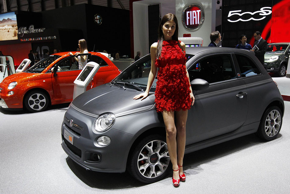 Concept Cars Shine At Auto China 2016 1 Chinadaily Com Cn: Fiat 500L Models Shine At The Geneva Auto Show