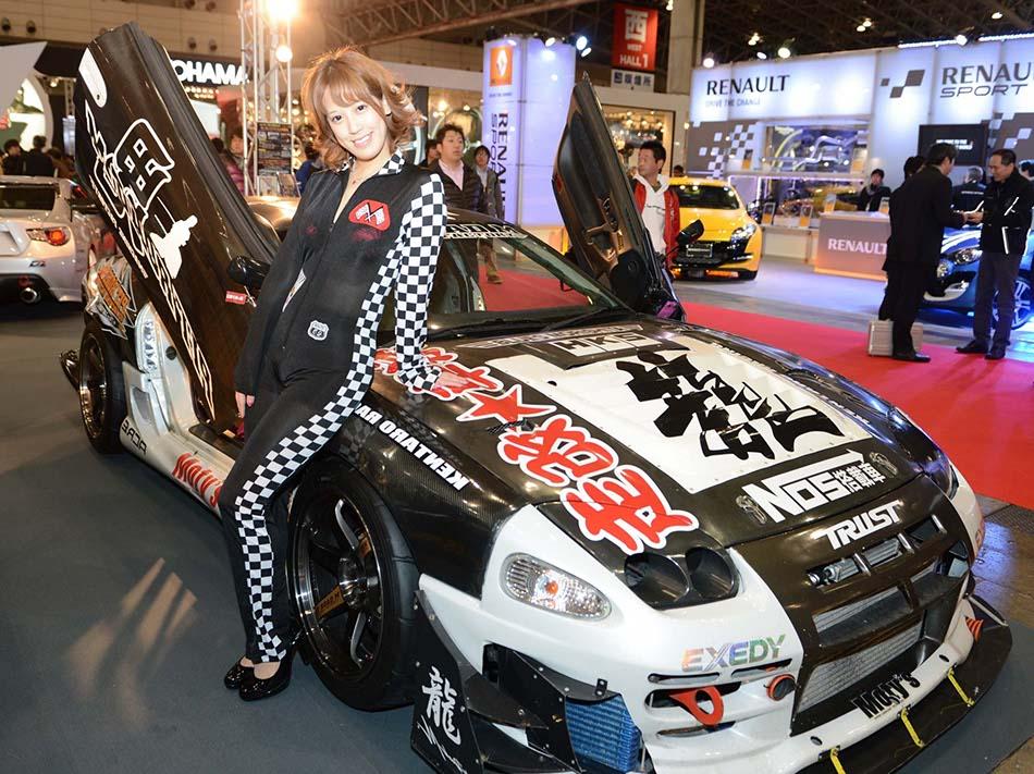 Models at Tokyo modified car show[2]|chinadaily.com.cn