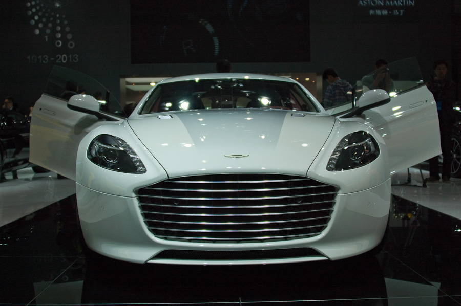 China Launch Of Aston Martin Rapide S At Shanghai Auto Show 2013 2 Chinadaily Com Cn