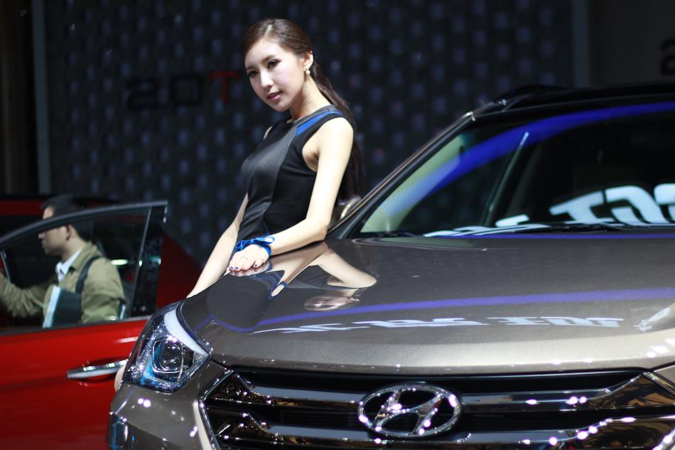 new car launches from hyundaiModels shine at Hyundais new car launch1chinadailycomcn