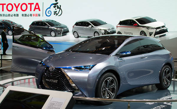Toyota FTHT World Premiere At Shanghai Auto Show - Toyota show car
