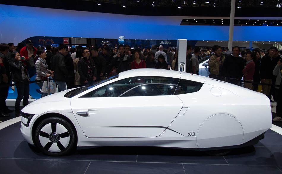 Vw Xl1 Concept Car At Shanghai Auto Show 2017