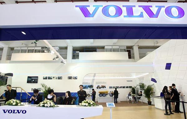 Volvo hopes to hit target early with new China plant
