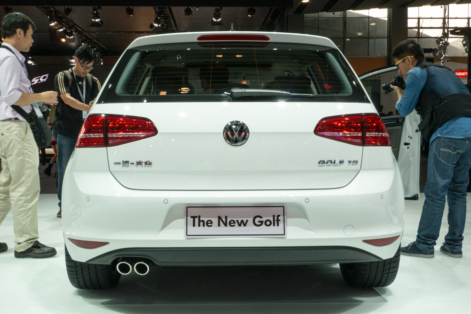 New Faw Logo Faw-vw All-new Golf at