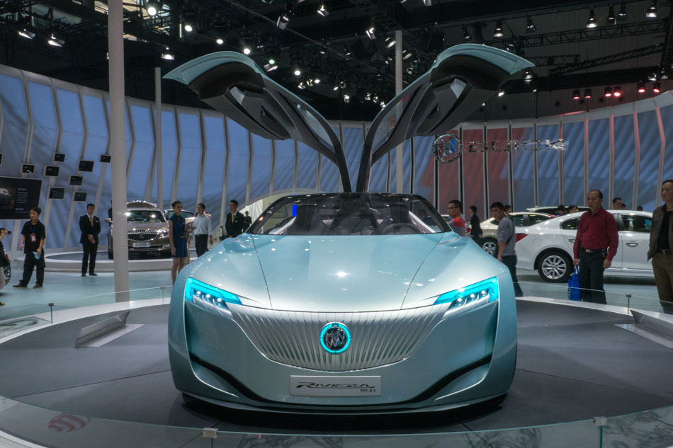 Concept Cars Shine At Auto China 2016 1 Chinadaily Com Cn: Buick Riviera Concept Car At 2013 Auto Guangzhou[1