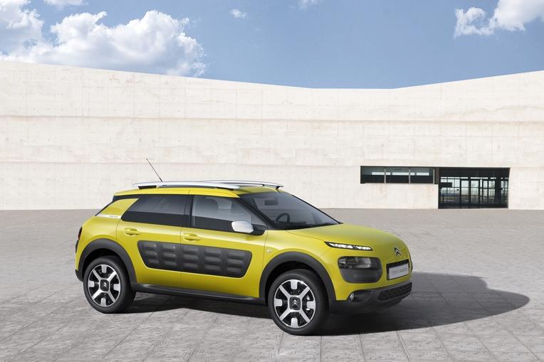 Citroen C4 Cactus Green >> Citroen C4 Cactus Concept To Debut The World In Geneva 1