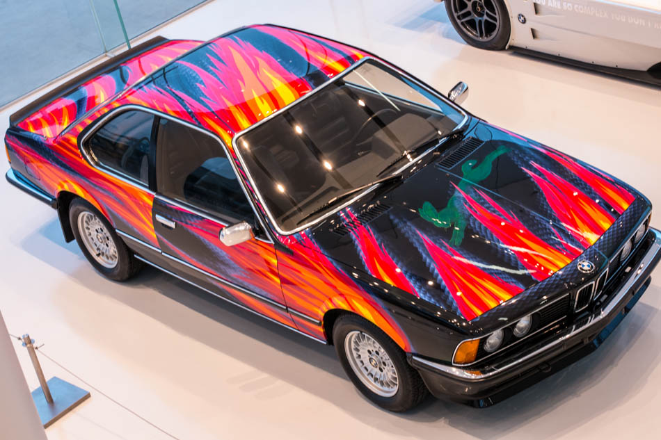 BMW Art Car #5 - Ernst Fuchs - Immagine China Daily