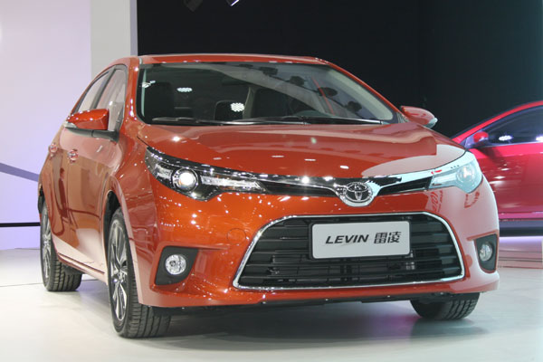Toyota To Launch China Made Corolla Levin Hybrids In 2015