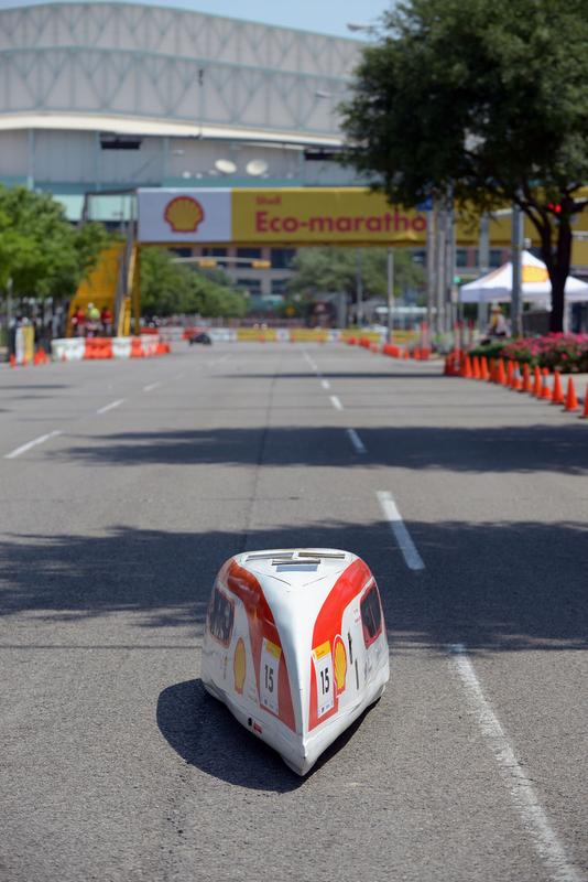 New-energy vehicles shine in Eco-marathon