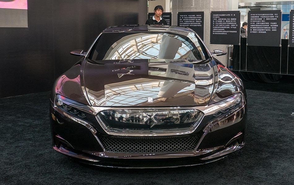 ds luxury cars debut the world 3. Black Bedroom Furniture Sets. Home Design Ideas