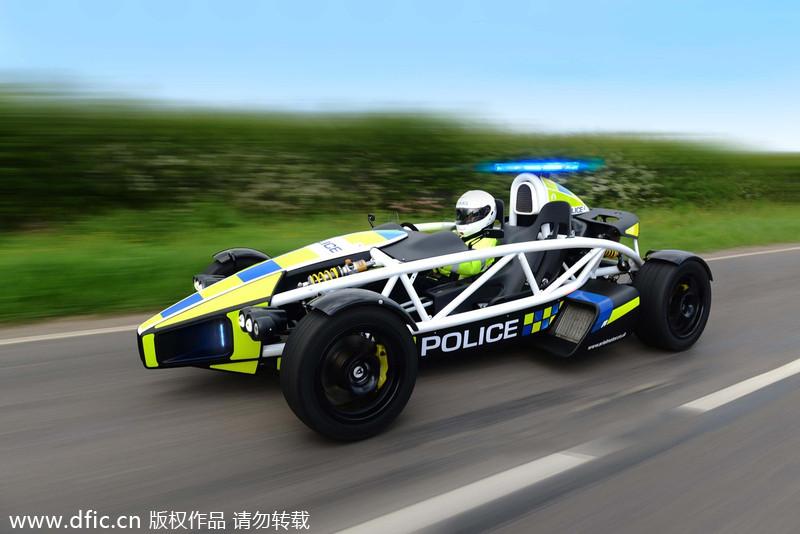 World S Fastest Police Car 2 Chinadaily Com Cn
