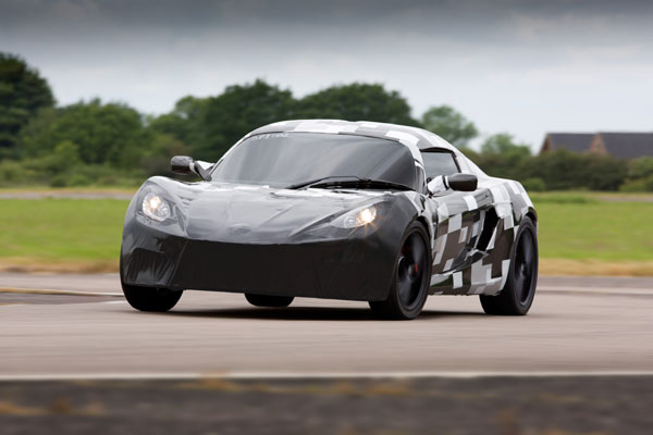 Fastest mass produced electric car edges closer to launch - Business ...