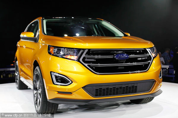 Ford recalls for 2013 edge firewall