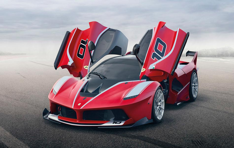 Ferrari Lauches Its Ultimate Race Car Laferrari Fxx K