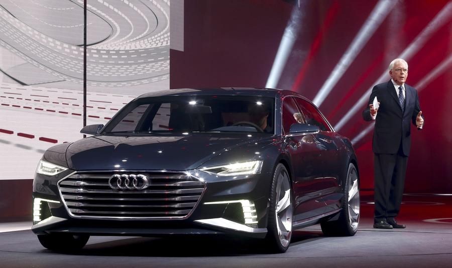 New Audi Cars Make World Premiere At Geneva Motor Show - Who makes audi cars