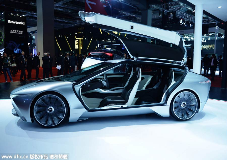 Concept Cars Shine At Auto China 2016 1 Chinadaily Com Cn: New-energy Cars Power Up Shanghai Auto Show[4]- Chinadaily