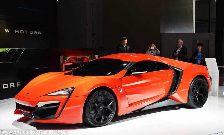 Lykan Car Price >> Top 10 most expensive supercars at Auto Shanghai 2015[10]- Chinadaily.com.cn