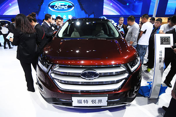 Ford Car Sales May Shrink