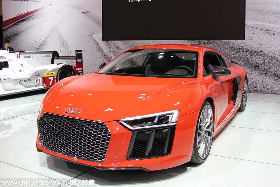 Sports Cars At Canadian International Auto Show