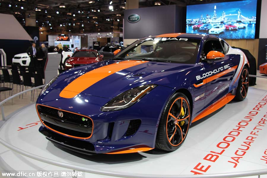 Sports Cars At Canadian International Auto Show Chinadailycomcn - International auto center