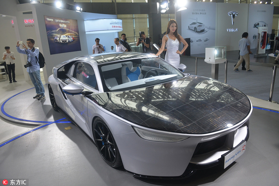 Concept Cars Shine At Auto China 2016 1 Chinadaily Com Cn: New Energy Cars And VR Attract Visitors At Auto Guangzhou