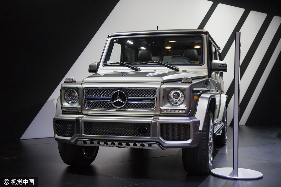 Top 10 most expensive suvs for 2017 9 for The most expensive mercedes benz