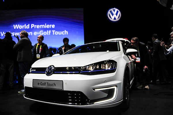 VW Sees Signs Of Recovery In EU Business Chinadailycomcn - Vw car show las vegas