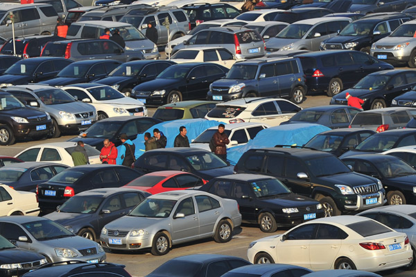 Used Cars Dealership >> Used Car Sales Hit A Million A Month Business Chinadaily
