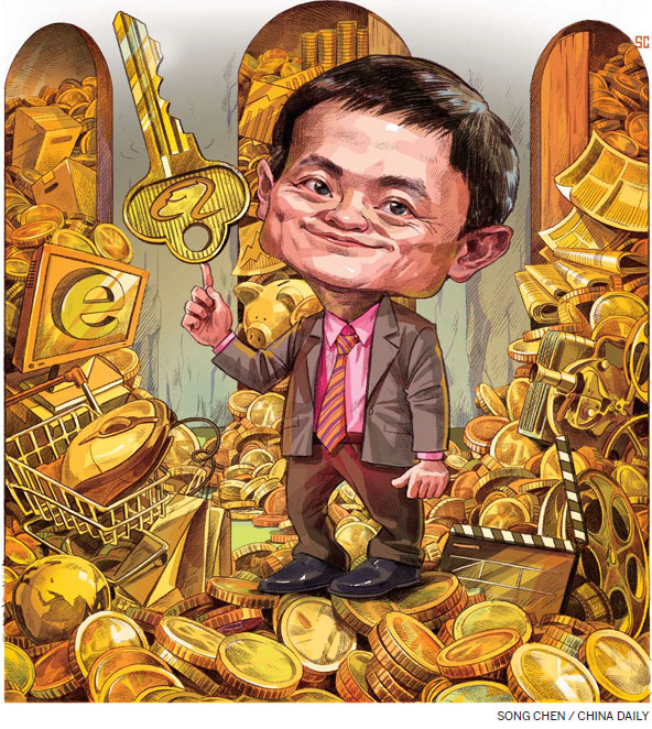 Jack Ma eyes acquisitions to weave his magic again[1]