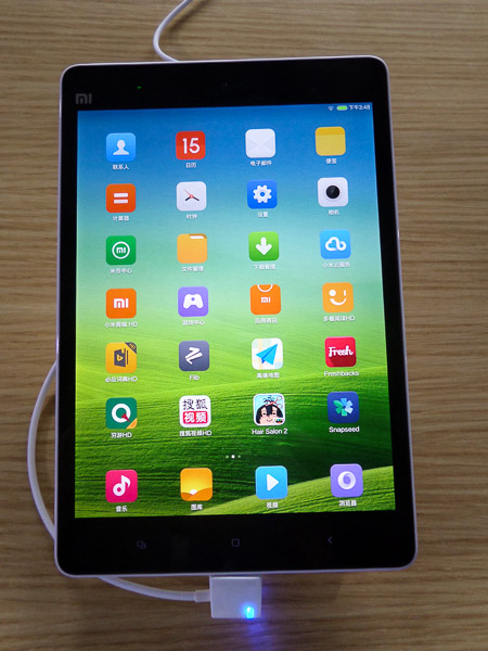 Xiaomi launches 1st tablet, targeting iPad
