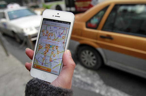 Bumpy start for plan to regulate taxi-calling apps[1]- Chinadaily com cn