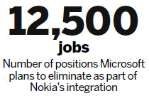 Microsoft to stem Nokia losses 'in 2 years'