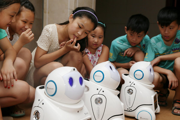 Building young minds of the future with all-things-robotics
