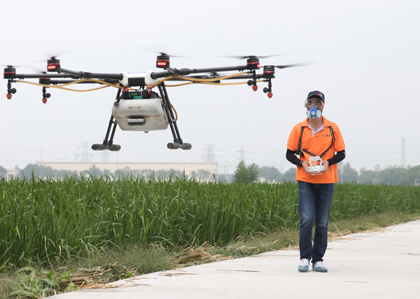 DJI launches upgraded agricultural drone - Business