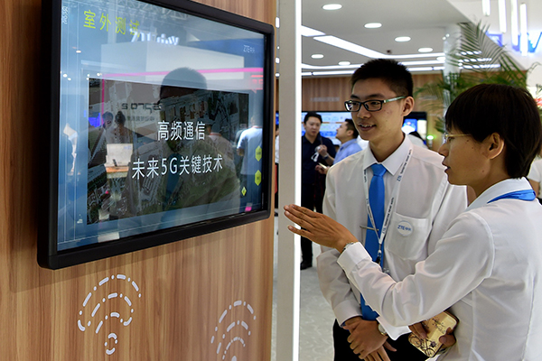 Chinese firms gain lead in the race for 5G edge