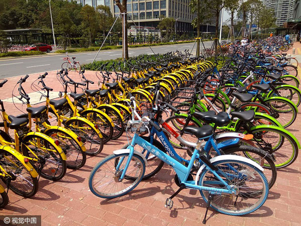 Shenzhen: Police to restrict shared bikes to prevent