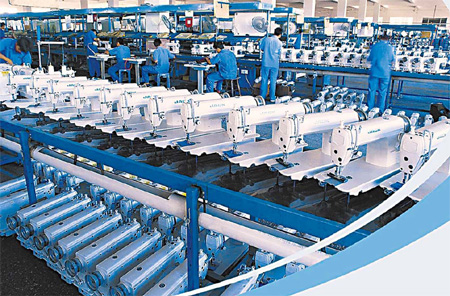 New JACK Poised To Expand Product Line Impressive Jack Sewing Machine Co Ltd